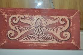 hand painted wood wall art decor pair  on hand painted wood wall art with hand painted wood wall art decor pair omero home