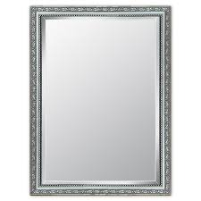 Style Selections Silver Beveled Wall Mirror