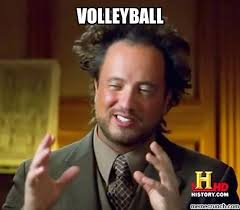 Image result for volleyball meme