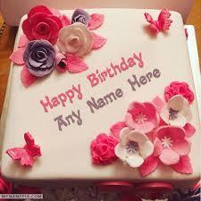 Birthday Cake Pic With Name Bdfjade