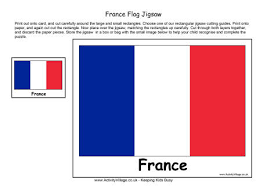Small Picture France Flag Colouring Page