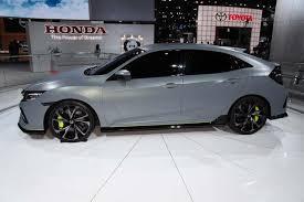 2018 honda civic hatchback grey. 2017 honda civic hatchback prototype: new york auto show featured image large thumb1 2018 grey 2