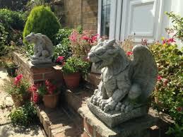stone sculpture garden stone statue