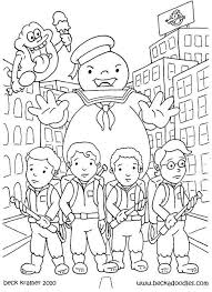 Small Picture Online Ghostbusters Coloring Pages 89 With Additional Coloring