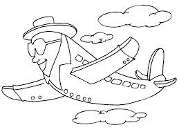 Avion 146 Transport Coloriages Imprimer