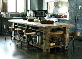 rustic kitchen island amazing ideas 2 with seating diy matchless