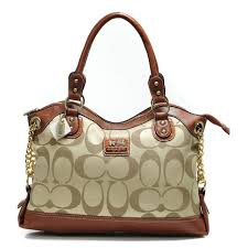 Coach Legacy Pinnacle Lowell In Signature Large Khaki Satchels ADW ...