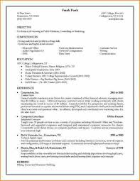 Resume Application Form