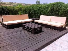 outdoor furniture with pallets.  with wooden deck done with pallets on outdoor furniture with pallets e