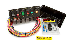 search results painless performance 6 switch rocker circuit breaker panel by painless performance products