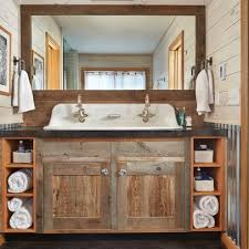 51 Insanely beautiful rustic barn bathrooms Rustic bathroom