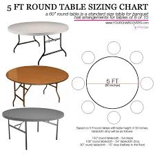 wonderful best 25 tablecloth sizes ideas on banquet for 6 foot round table designs 18