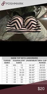 Plus Size Torrid Swim Top This Is The Cutest Retro Torrid