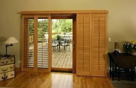sliding glass door ideas incomparable window treatments