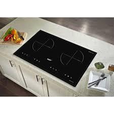 Bếp từ đôi cảm ứng Kaff KF-073II + Tặng Máy hút mùi nhà bếp cổ điển 7 tấc  Kaff - Bếp điện kết hợp