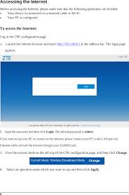 You will need to know then when you get a new router, or when you reset your router. Mf253v Zte 4g Wireless Router User Manual Zte