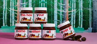 personalised nutella a food gift guide scarletscorchdroppers