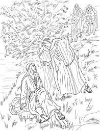 Jezus Roept Filippus En Nathanaгl Kleurplaat Free Printable