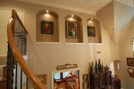 wall niche lighting. Contemporary Wall Ideas Wall Art Lighting Mini Niche Example Throughout