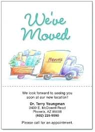 Business Moving Announcement Template Business Moving Announcement