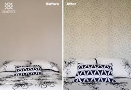 Small Picture Bedroom Paint Stencils How To Make Homemade Pattern For Painting