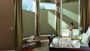 motorized window blinds. hunter douglas motorized blinds in austin bedroom window i
