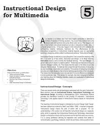 Instructional Design Concepts Instructional Design For Multimedia