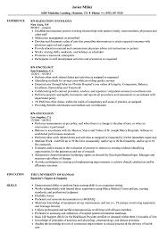 Oncology Rn Resume Rn Oncology Resume Samples Velvet Jobs