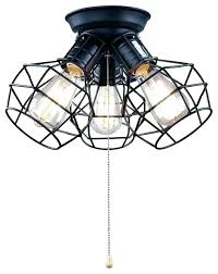 pull string lamp light with pull chain ceiling wire cage 3 string lamp for closet stuck