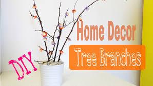 Diy Home Decor Diy Home Decor Tree Branches Youtube
