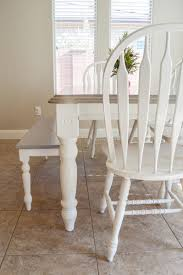 Diy Grey Paint Wash Dining Table Chairs The Diy Lighthouse