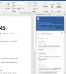 how to create resume in microsoft word write your best resume in word with help from linkedin in resume