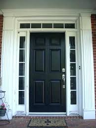 black front door with glass front doors with side panels front door before and after photos black front door with glass