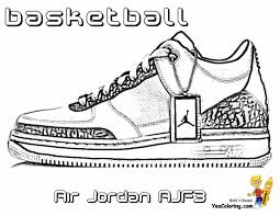 best of jordan shoe coloring pages free new