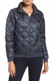 Women's Patagonia Blue Quilted Jackets | Nordstrom & Patagonia Prow Down Bomber Jacket Adamdwight.com
