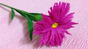 How To Make Flower Using Crepe Paper Flower With Crepe Paper Zlatan Fontanacountryinn Com