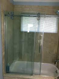 shower door glass treatment shower barn door 1 style g glass doors shower barn door best
