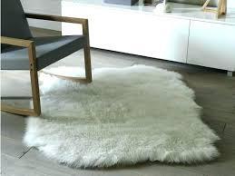 fake animal skin rugs uk faux hide rug la fur for