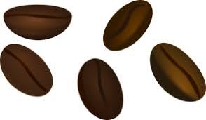 coffee beans clip art. Plain Clip Coffee Beans Clip Art With E