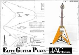 flying v wiring diagrams wiring diagrams luthiers plan to build flying v 58 korina p003