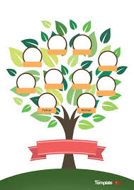 Blank Family Tree 4 Generations 005 Familytree Template Templatelab Com Ideas Printable