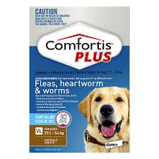 comfortis best price. Interesting Comfortis Comfortis Plus Chewable Tablets For XLarge Dogs 27154kg Brown Intended Best Price R