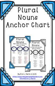 Plural Nouns Chart Plural Nouns Anchor Chart