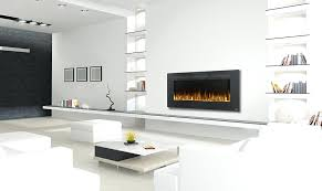 napolean electric fireplaces napoleon nefl60fh allure series linear slimline wall mount
