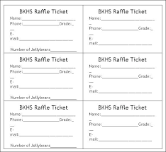 Raffle Tickets Template Word Best Of Free Ticket For New