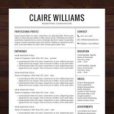 Public Relations Resume Template Fresh Simple Cv Template Word