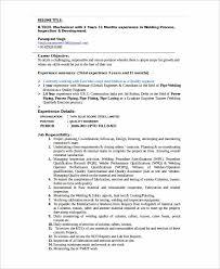 Entry Level Mechanical Engineering Resume Custom Entry Level Welder Resume Sample Welders 48 Editable Welding