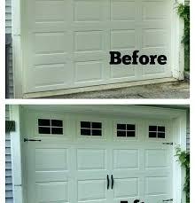 double garage door conversion cost