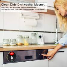 Magnet Kitchen Designer Jobs Dishwasher Magnet Clean Dirty Indicator Sign With Running Empty Options Kitchen Gadgets For All Dishwashers Non Scratching Strong Magnetic Backing