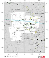 Star Distances From Earth Chart Sagittarius Constellation Facts Mythology Stars Location